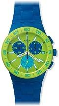 Chrono Plastic Blue Rug SUSN404