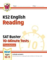 New KS2 English SAT Buster 10-Minute Tests: Reading - Foundation (for the 2020 tests)