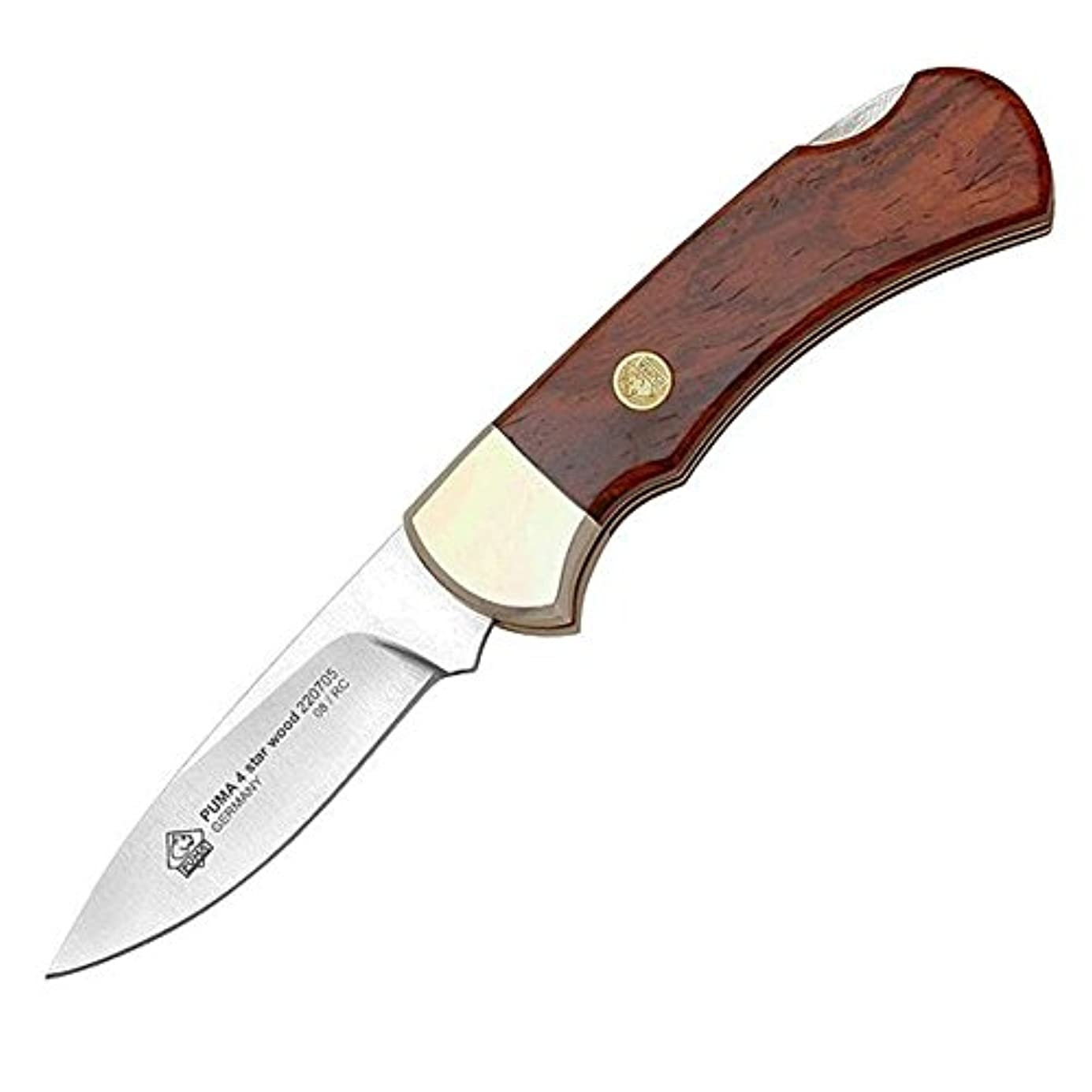 ゲームスケッチ計算するPUMA 4スターウッド 折りたたみナイフ 独製