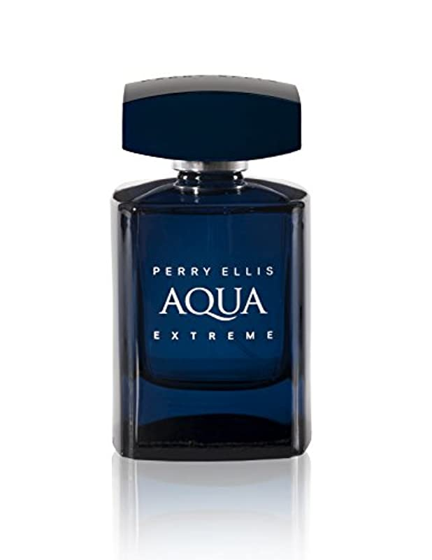 写真を描く上に築きます差Perry Ellis Aqua Extreme 100ml/3.4oz Eau de Toilette Spray EDT Cologne for Men