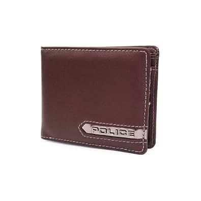 2b3a3a1f0659 Amazon | (ポリス) POLICE メタリックシリーズ 二つ折り財布 0507 ...