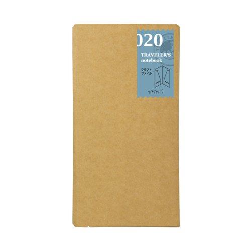トラベラーズノート リフィル クラフトファイル レギュラーサイズ 14332006