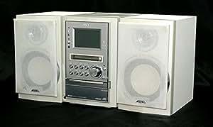 AIWA アイワ (SONY ソニー) XR-MJ1 マイクロハイファイコンポーネントシステム AIWA アイワ (SONY ソニー) XR-MJ1-W ホワイト マイクロハイファイコンポーネントシステム (CD/MDコンポ) (本体CX-LMJ1とスピーカーSX-LMJ1のセット)(CD/MDコンポ) (本体CX-LMJ1とスピーカーSX-LMJ2のセット)