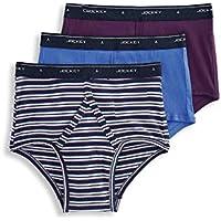 Jockey Men's Underwear Classic Full Rise Brief - 3 Pack