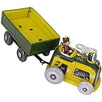 【ノーブランド品】自動車 カー トラクター 鍵付 ブリキのおもちゃ ゼンマイ式 コレクション