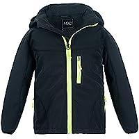 M2C Boys & Girls Hooded Winter Windbreaker Fleece Lined Softshell Jacket