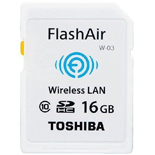 TOSHIBA 無線LAN搭載 FlashAir III Wi-Fi SDHCカード 16GB Class10 並行輸入品