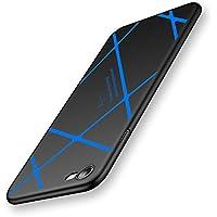 iPhone7ケース 超薄 超軽量 高品質PC 耐衝撃 360度全面保護  (ブルー)