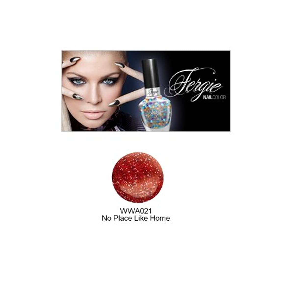遠い債務者受取人Wet N Wild FERGIE NAIL COLOR - No Place Like Home (並行輸入品)