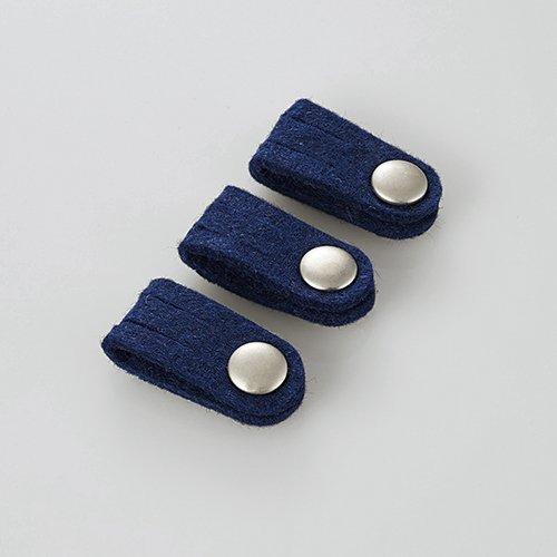 エレコム ケーブルホルダー/ボタンクリップホルダー/Sサイズ/ブルー EKC-CBFSBU 1個