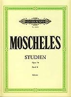 MOSCHELES - Estudios de Perfeccionamiento Op.70 Vol.2コ para Piano (Ruthardt)