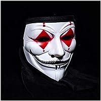 ハロウィンマスク コスチュームパーティーClown Props 恐ろしい恐ろしい正会 アダルト向け