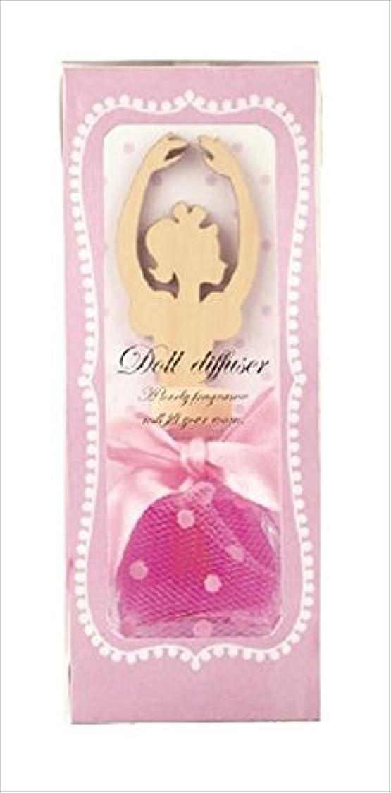目の前のオートマトンキリマンジャロカメヤマキャンドルハウス ドールディフューザー ピンク ローズの香り