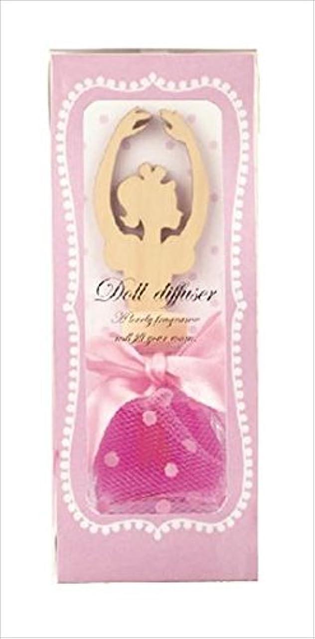 製品トークライドカメヤマキャンドルハウス ドールディフューザー ピンク ローズの香り