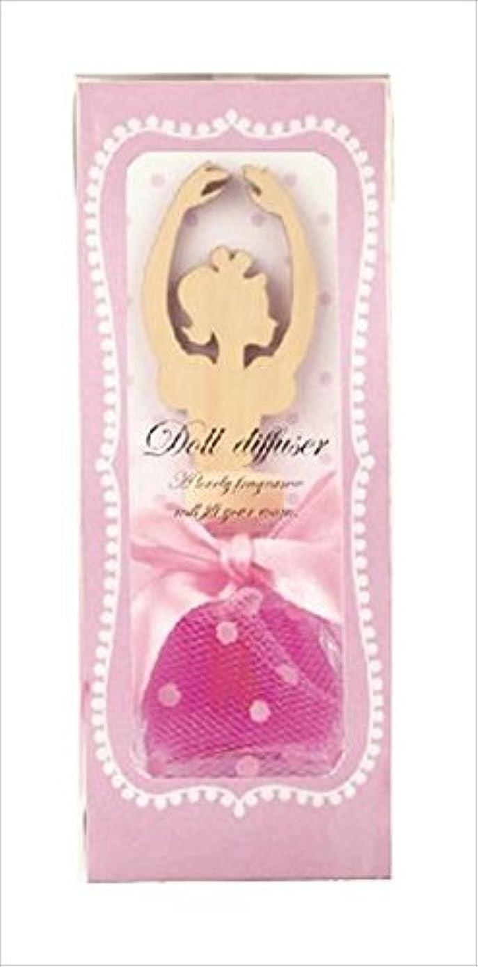 タイプアイザック地中海カメヤマキャンドルハウス ドールディフューザー ピンク ローズの香り