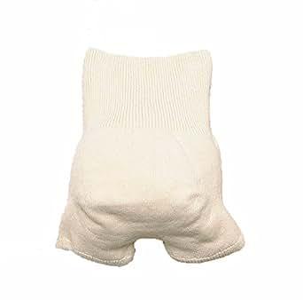 9003:無縫製 子供用はらまきパンツ(身長110-130cm)生成