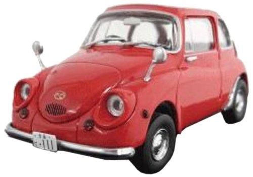 1/43 スバル360 スーパーデラックス 1967 (赤)