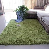 北欧の白いリビングルームのカーペットのコーヒーテーブルのクッションルームの寝室の床のマットのベッドサイドの毛布かわいい長方形の豪華な床敷物
