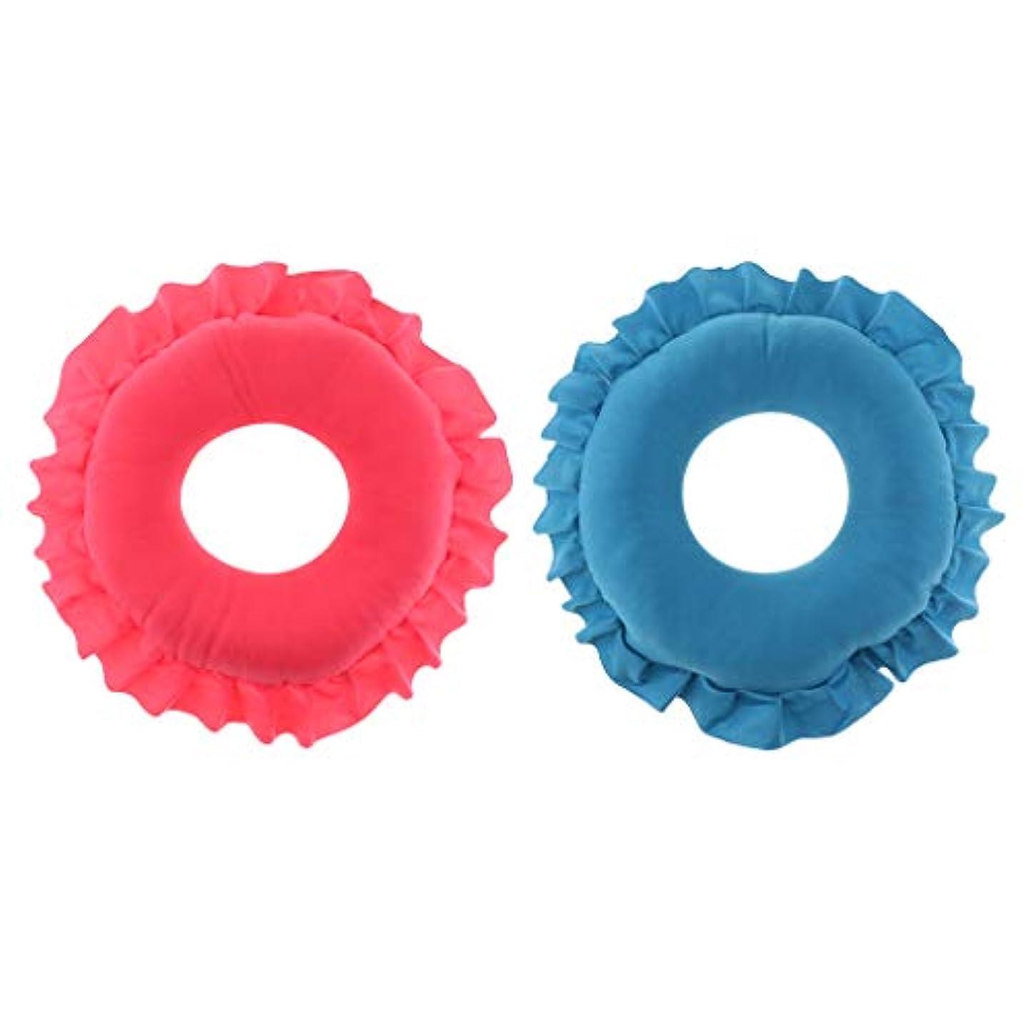 北米ブッシュ教えBaoblaze 顔枕 マッサージ用 マッサージ枕 フェイスマット 軽量 快適 洗える 2個入