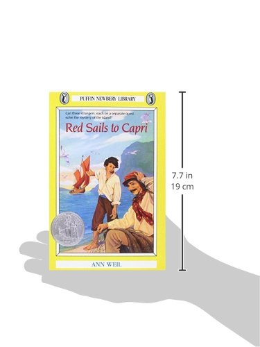 a book analysis of red sails to capri by ann weil