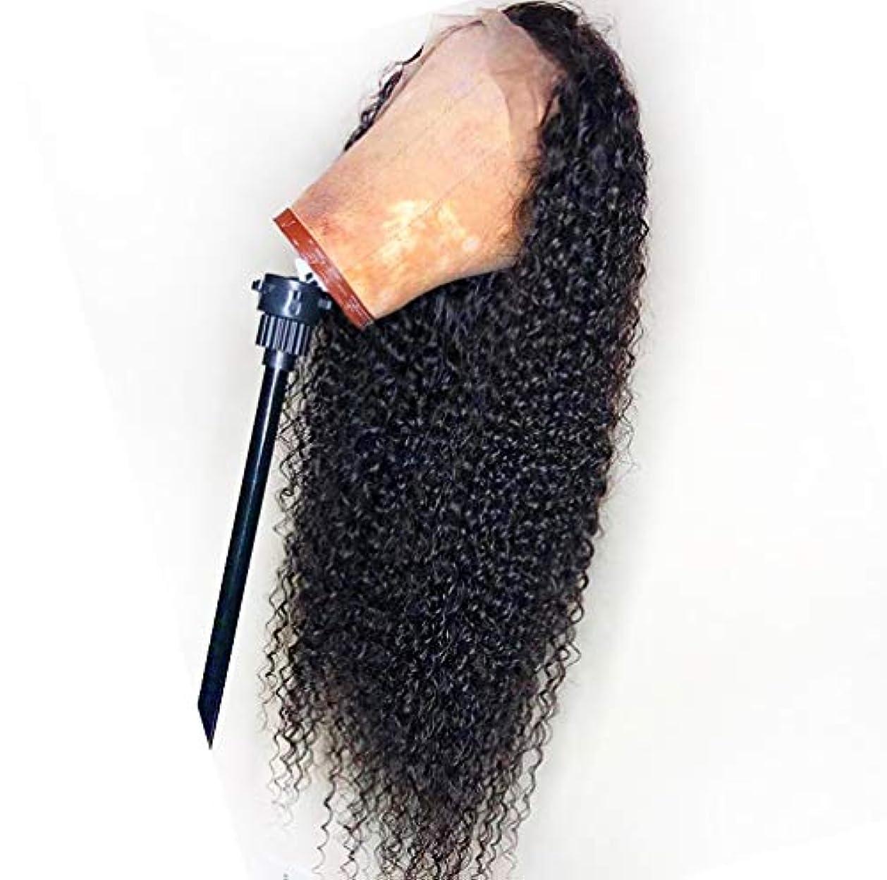 重要ないうミニチュア女性の人間の髪の毛のかつら13 * 6レースフロントボディ波100%バージンブラジルの人間の髪のレースフロントかつら自然なかつら