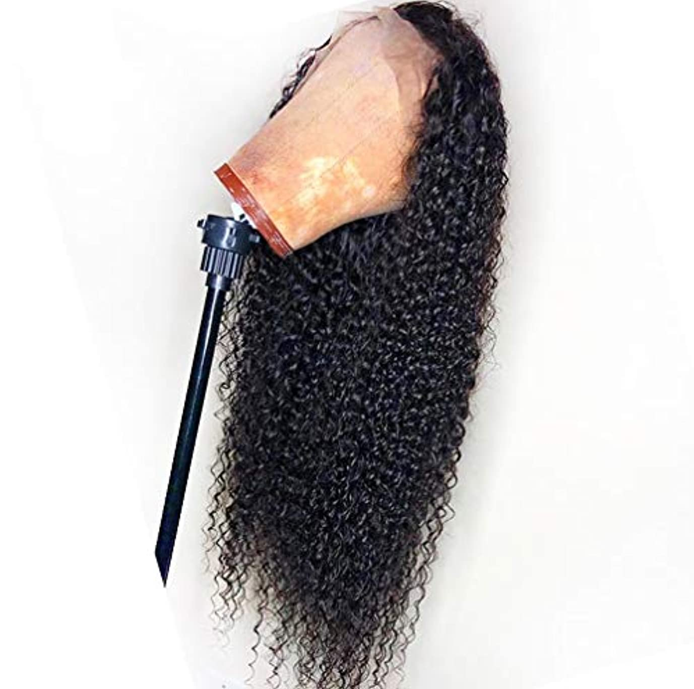 しないオプショナル太平洋諸島女性の人間の髪の毛のかつら13 * 6レースフロントボディ波100%バージンブラジルの人間の髪のレースフロントかつら自然なかつら