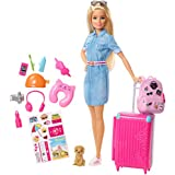 Barbie Travel Doll & Accessories