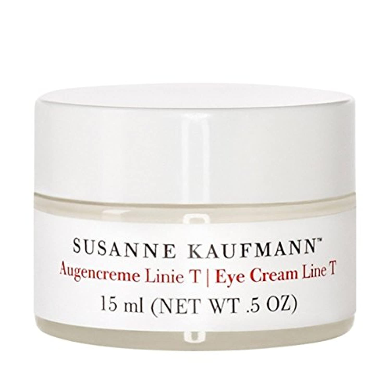 破壊する気候の山盲信スザンヌカウフマンアイクリームライントンの15ミリリットル x4 - Susanne Kaufmann Eye Cream Line T 15ml (Pack of 4) [並行輸入品]