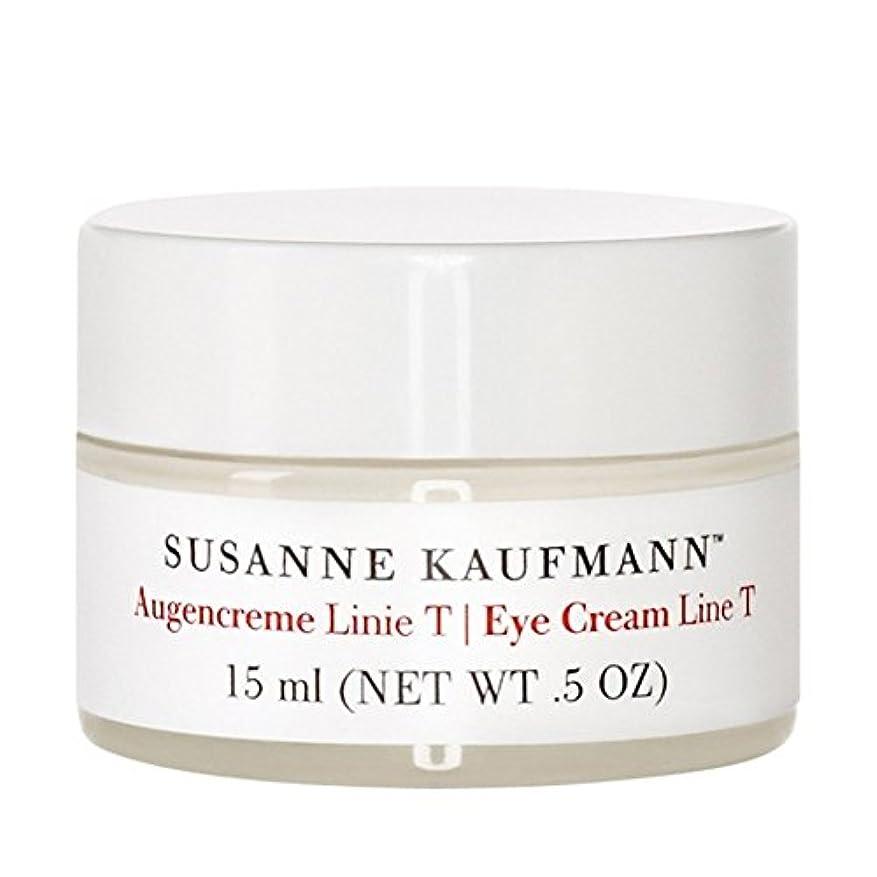 酸素吸い込むオーケストラSusanne Kaufmann Eye Cream Line T 15ml (Pack of 6) - スザンヌカウフマンアイクリームライントンの15ミリリットル x6 [並行輸入品]