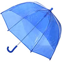 totes by Totes Kid's Clear Bubble Umbrella with Easy Grip Handle