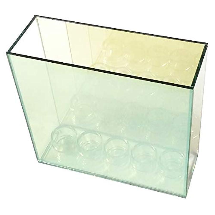 放散する遠えブランク無限連鎖キャンドルホルダー 5連 ガラス キャンドルスタンド ランタン ティーライトキャンドル