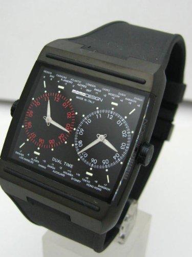 MOMO DESIGN WATHC モモデザイン DUAL TIME デュアルタイム ブラック