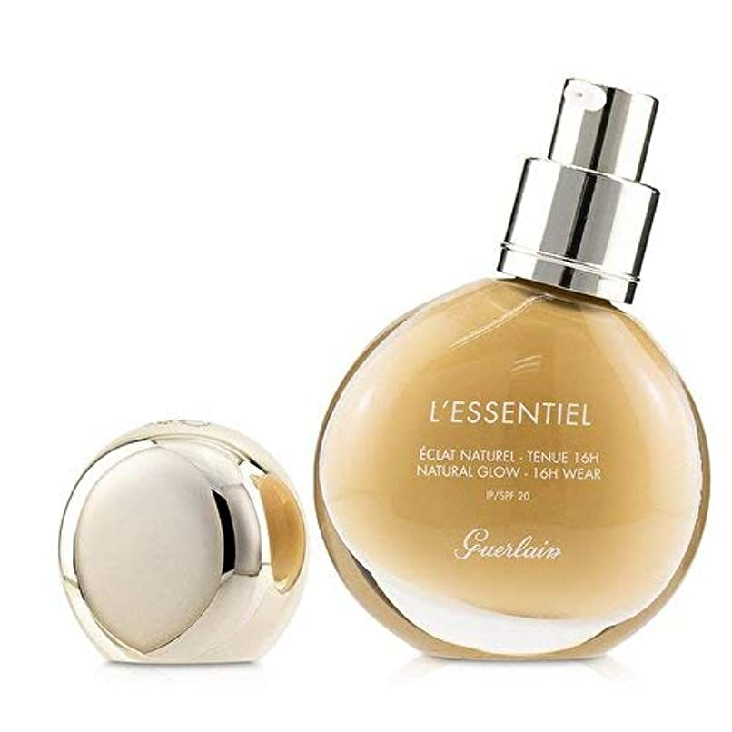 ピア気怠い吹きさらしゲラン L'Essentiel Natural Glow Foundation 16H Wear SPF 20 - # 04W Medium Warm 30ml/1oz並行輸入品