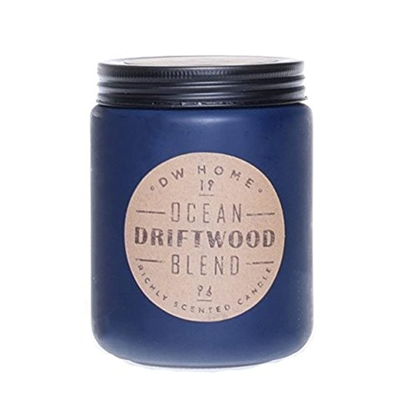 バンドル賞賛する私たち自身Decoware DW Home Richly Scented Candle 11 Oz - Ocean Driftwood Blend [並行輸入品]