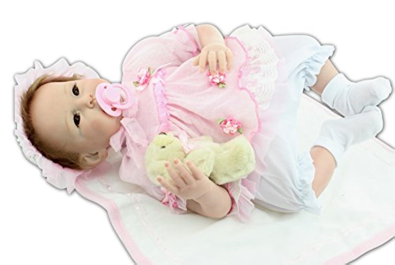 NPK COLLECTION 55cm リボーンドール ドール ベビードール きせかえ人形 誕生日プレゼント 人形
