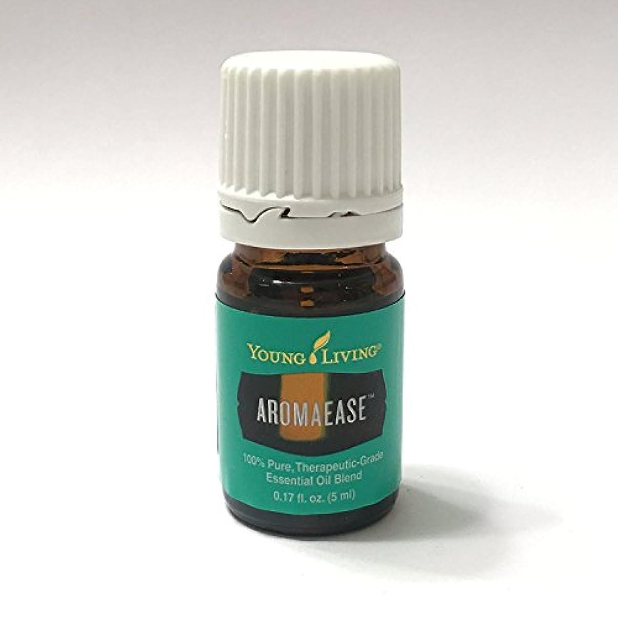 バリア黒板ファランクスYoung Living aromaease 5ミリリットル(アロマ使いやす)エッセンシャルオイルエッセンシャルオイル