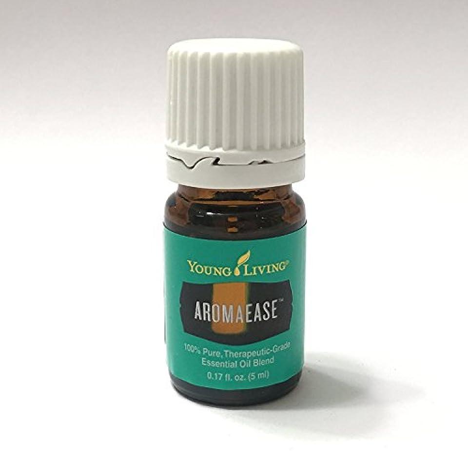 中古頭蓋骨凝視Young Living aromaease 5ミリリットル(アロマ使いやす)エッセンシャルオイルエッセンシャルオイル