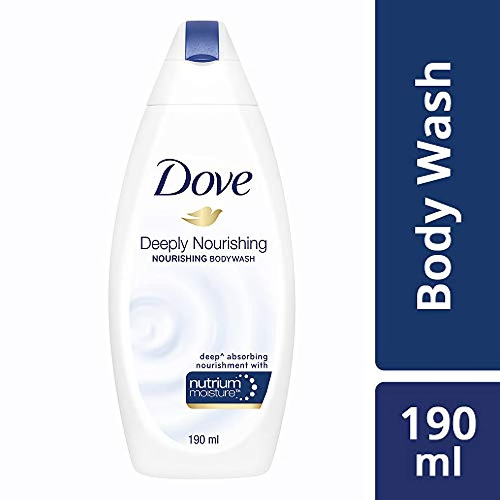 郵便局それる皮肉なDove Deeply Nourishing Body Wash, 190ml
