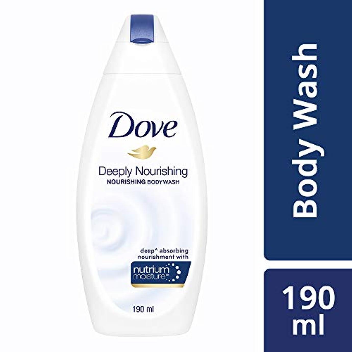 それから売上高咲くDove Deeply Nourishing Body Wash, 190ml