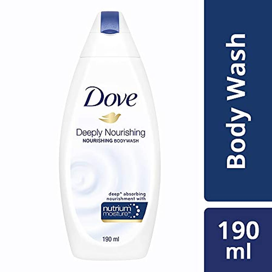 いいねランドマーク全員Dove Deeply Nourishing Body Wash, 190ml