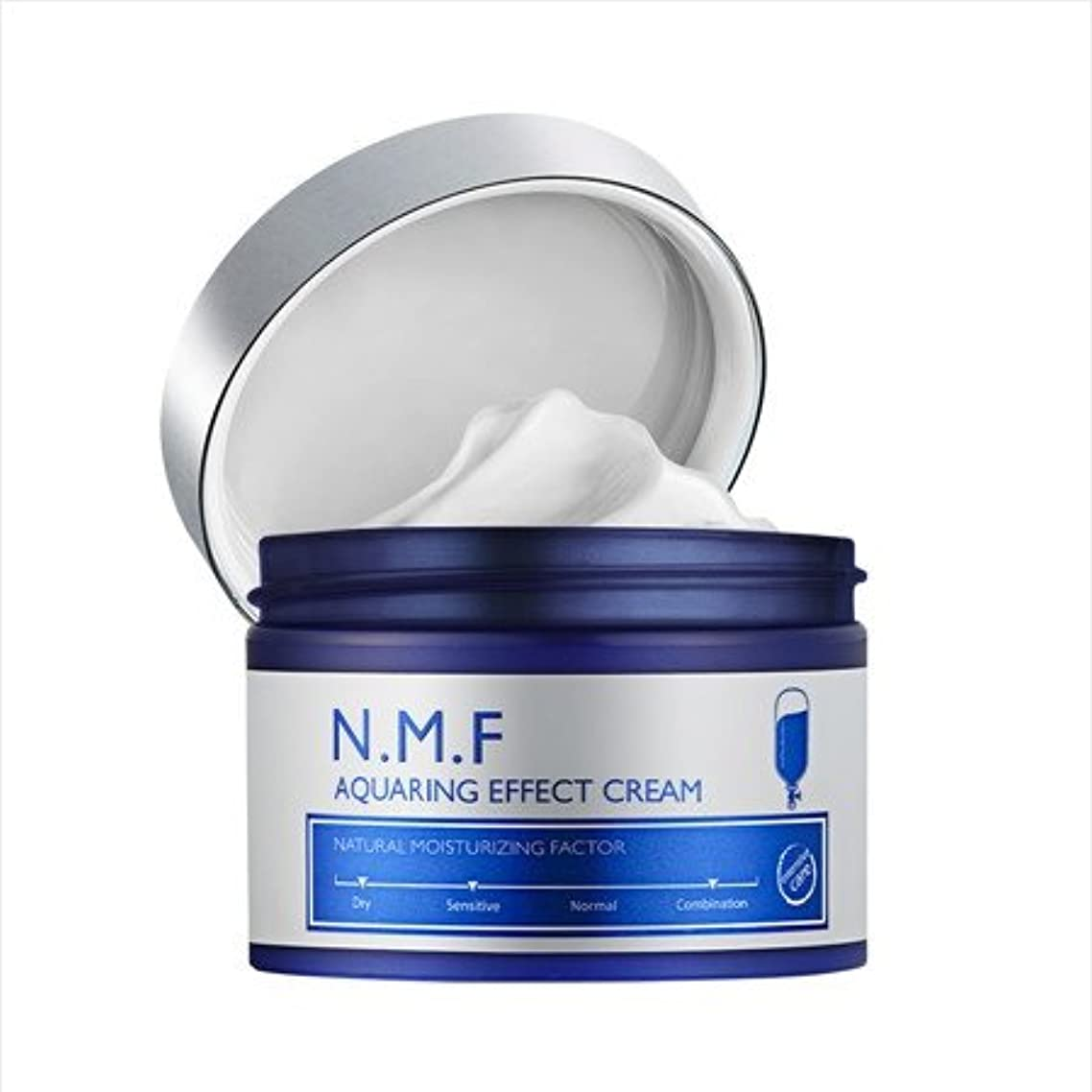 遡るポールにじみ出るメディヒール Mediheal N.M.F クアリングエフェクトクリームNMF Aqua Ring Effect Cream 50ml [並行輸入品]