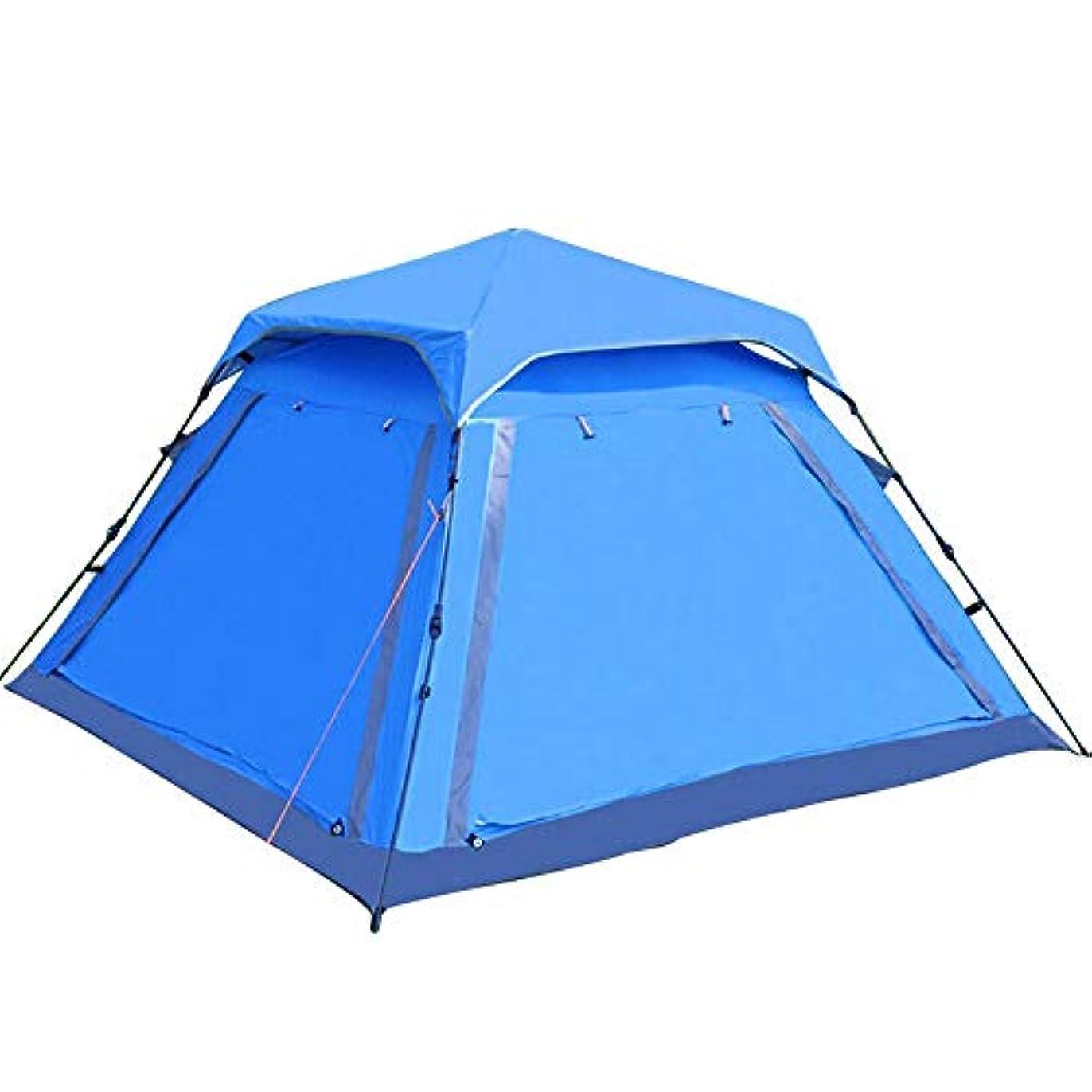 仲良し圧力文字通り全自動テント、特大3-4人キャンプ屋外スピードオープン中庭ディナーパーティー家族旅行テント