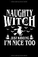 Notizbuch: Kalender 2020 Halloween Hexe Besen Naughty Kostuem Witz Geschenke 120 Seiten, 6X9 (Ca. A5), Jahres-, Monats-, Wochen- & Tages-Planer