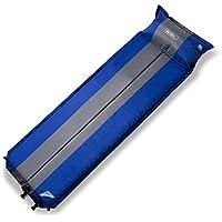 自動インフレータブル枕ステッチCampingキャンピングマット/フロアマット/ピクニックランチパッド