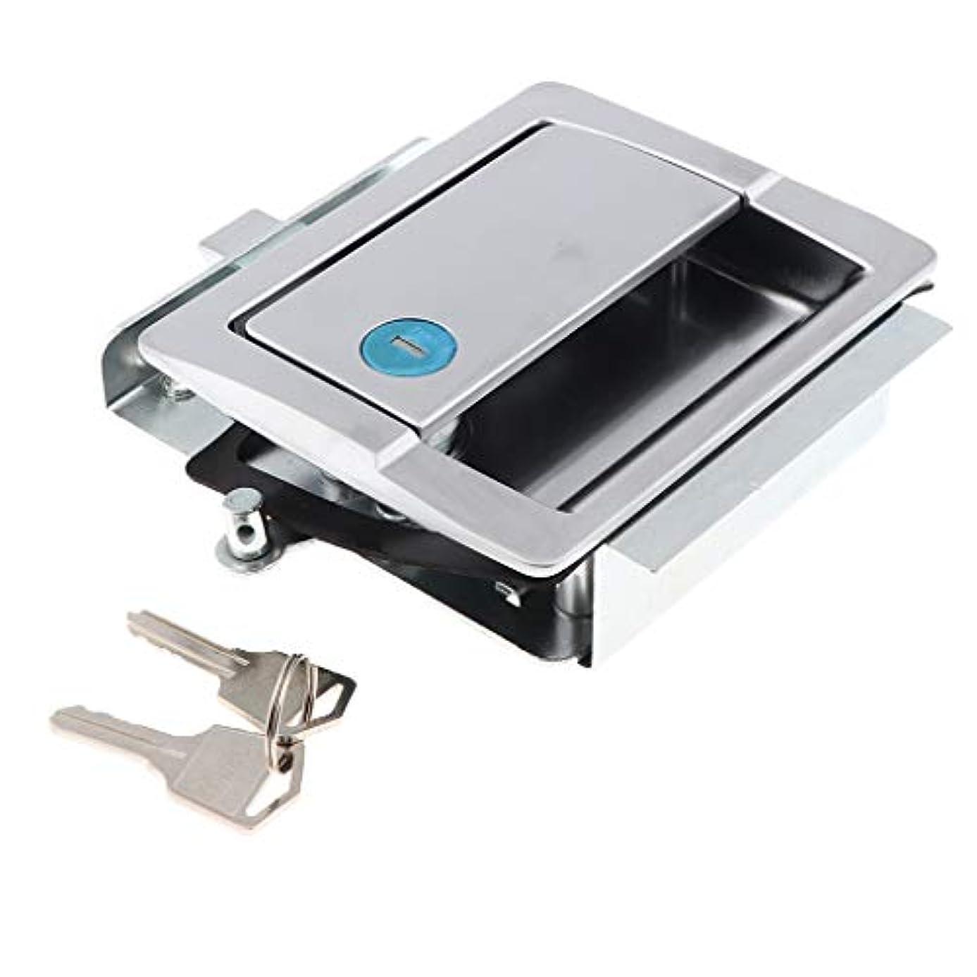きしむ静かな希少性KESOTO ハンドルドアロック ロック ドア キャビネット 亜鉛合金 取り付け簡単 耐久性