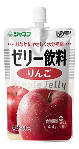 キューピー 株式会社 キューピー ジャネフ ゼリー飲料 りんご 100g x 32袋