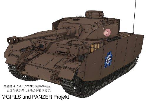 プラッツ ガールズ&パンツァー IV号戦車D型 (H型仕様) -あんこうチームver.- 1/35スケール プラモデル