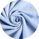 防水ボックスシーツ 100%綿タオル地 防水シーツ 防水布団カバー 介護シーツ おねしょシーツ マットレスプロテクター マットレス・敷き布団カバー 洗える 防ダニSONGLIBIN (ブルー, 100*200*30CM) 画像