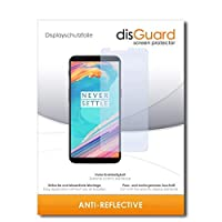 disGuard [2パック] OnePlus 5Tスクリーンプロテクターフィルム[反射防止]アンチグレア、反射防止/耐擦傷性、バブルフリーインストール、アンチフィンガープリント、アンチスクラッチ/フィルム、保護フィルム、スクリーンガード
