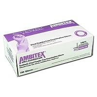 Tradex v200-lg Ambitex Large powder-freeビニール試験手袋–10/ Cs